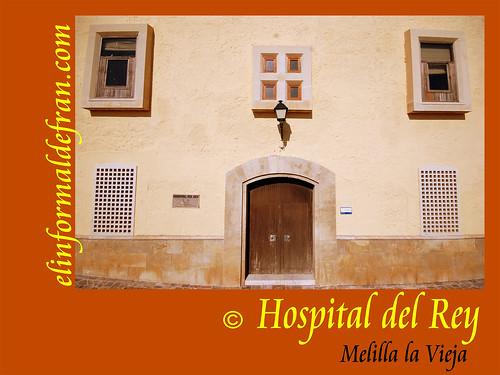 Puerta Principal Hospital del Rey