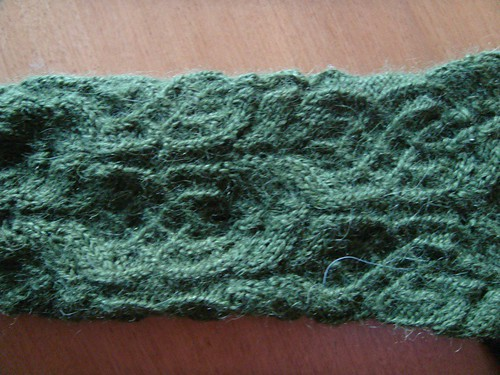 Twisted Flower sock