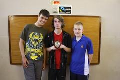 Winning 1st Lye Draughts Team