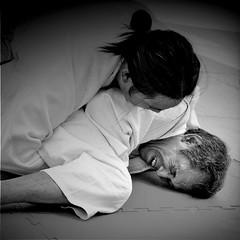 just can't grow old (Ruoxer) Tags: art sport japan self pain jitsu action martial hard master karate saudi arabia filipino aikido ju defence sensei seiza dogi
