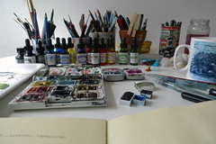 Tools I use (Wil Freeborn) Tags: art tools artists materials