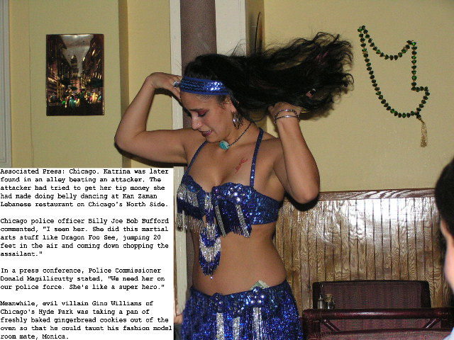 Kan Zaman -- Belly Dancer