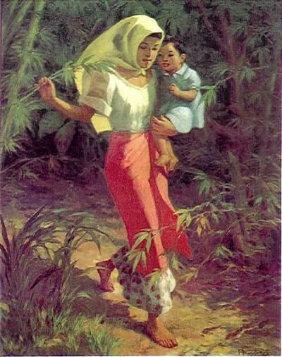 Amorsolo - Ina at Anak