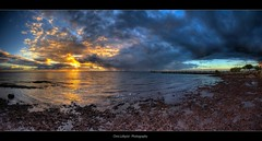 Wellington Point  Panorama (Christolakis) Tags: panorama sunrise hdr wellingtonpoint mywinners abigfave canon400d platinumphoto sigama1020 panoramahead theperfectphotographer