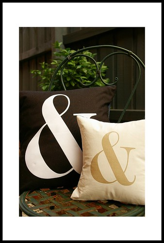 Aunty Cookie Ampersand Cushions