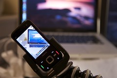 Nokia N85 video recording