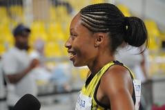 Allyson Felix in Doha (qatbart) Tags: athletics felix 2009 doha qatar allysonfelix