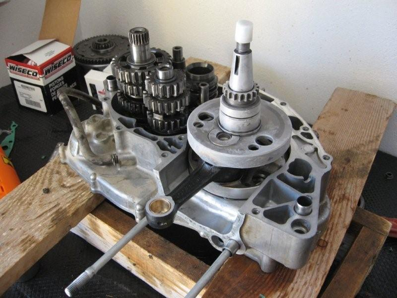Crank rebuild part 2 FINALLY! - CRF's Only Forums