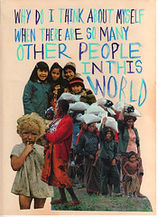 collage (Willbryantplz) Tags: people collage children peace thoughts gouache