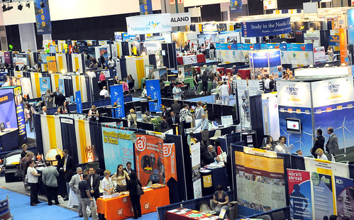 Expo Hall at NAFSA 2009