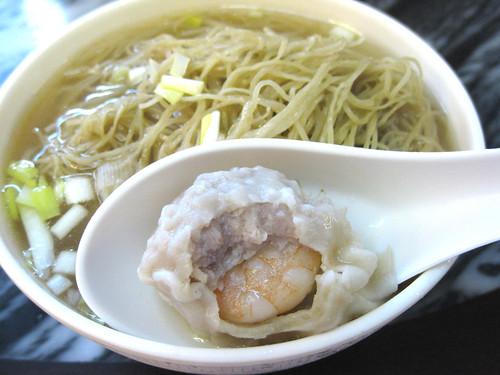 鲜虾馄饨银丝面 by food2.