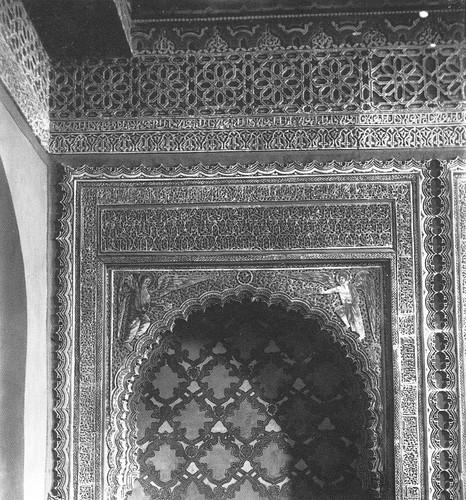 Capilla del Corpus Christi de la Iglesia de San Justo de Toledo en el siglo XIX. Fotografía de Casiano Alguacil