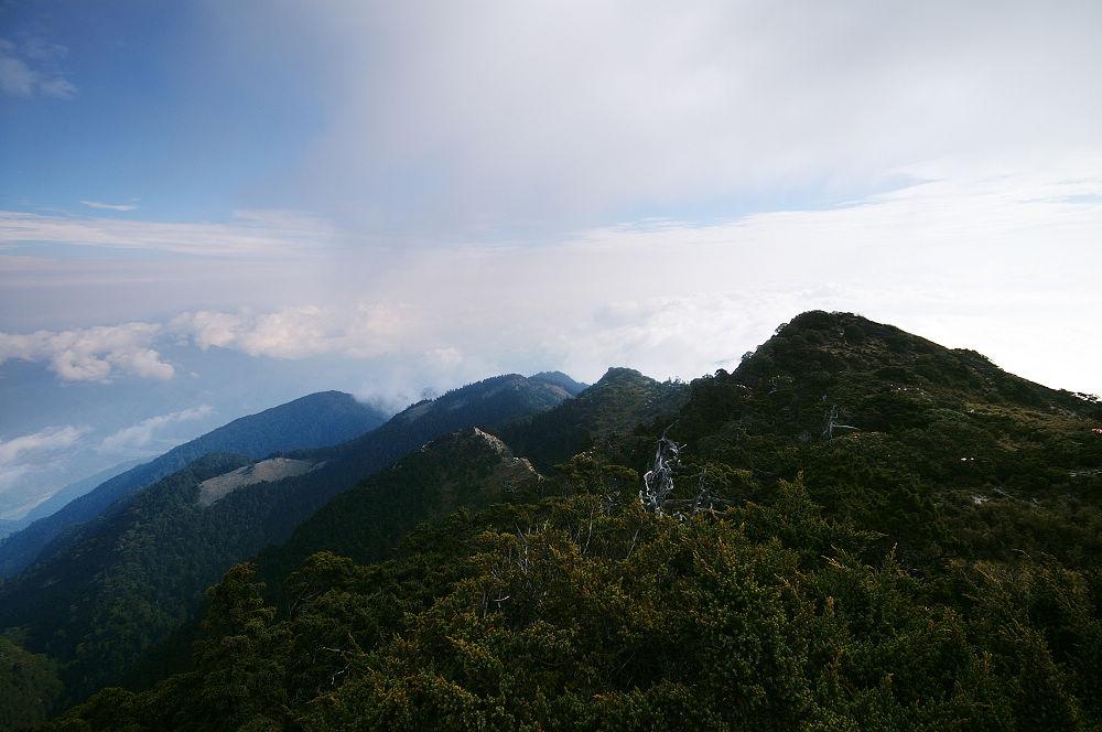 南湖大山day3-32 中央山脈北段