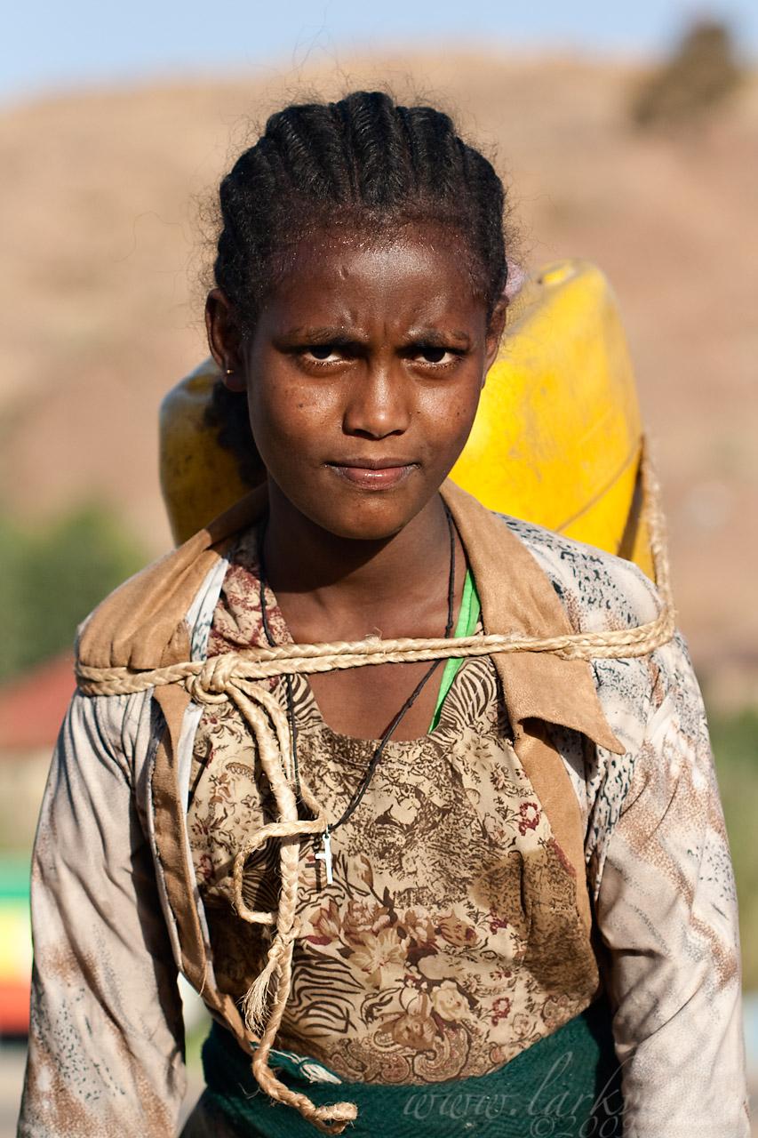 Water-bearer #2, Axum, Tigray, Ethiopia, April 2009