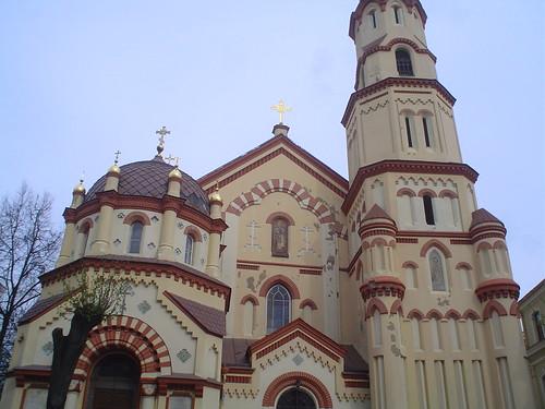 igreja ortodoxa em Vilnius na Lituania