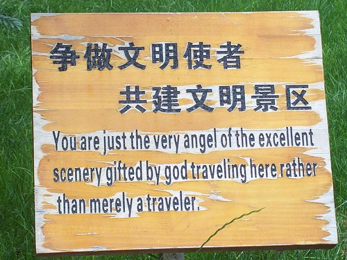 Stone Forest Chinglish. Photo: simplyla / Flickr Creative Commons