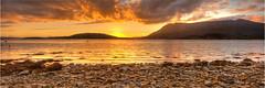 Ben More Coigach (Neale Stidolph) Tags: sunset sea water landscape scotland assynt benmorecoigach strathkanaird lochkanaird