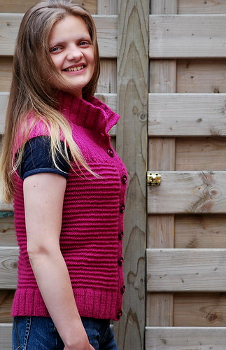 Gilet croisé/ Wrap-Around Sweater