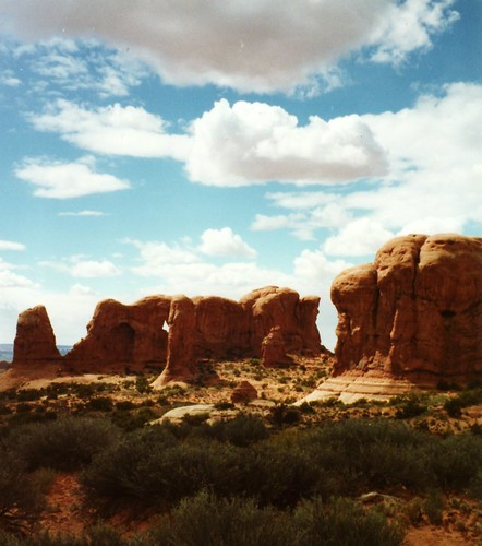 Parade of Elephants in Arches National Park