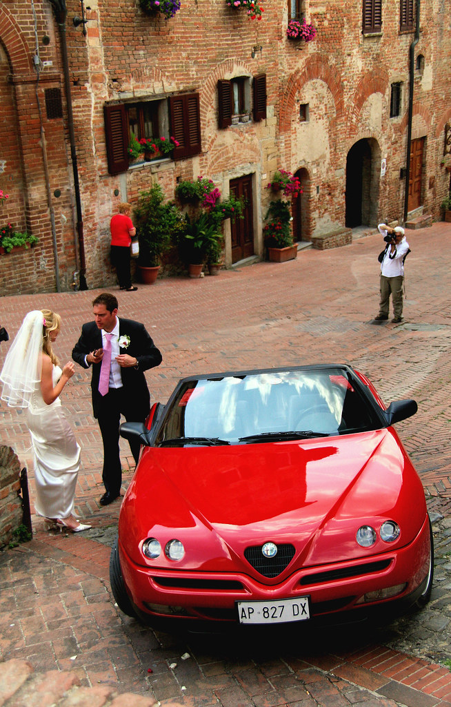 A Very English Wedding Held in a Very Italian Town