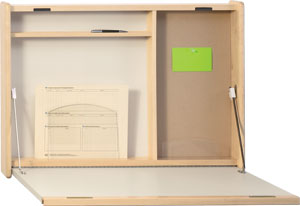 fold away wall desks, peter pepper
