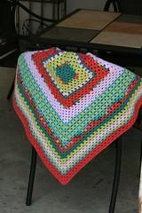 Fiesta baby blanket