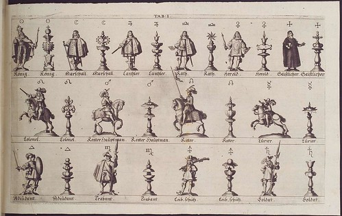 drawings of chess pieces
