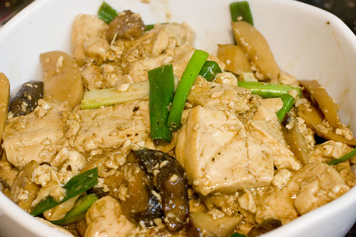 Tofu and Mushrooms 2