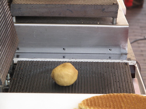 Ball on griddle