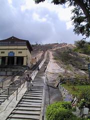 Almost There (Wild Pixels) Tags: india stairs karnataka shravanabelagola sravanabelgola