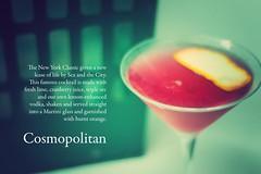 Cosmopolitan (Ian L Grundy) Tags: bar ian cosmopolitan nikon spirits cocktail drinks exeter alcohol crate d300 grundy coolings
