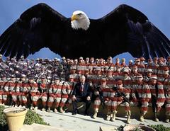 group photo (burntfaery) Tags: america photoshop flag military americanflag patriotic pride american defense donaldrumsfeld burntfaery