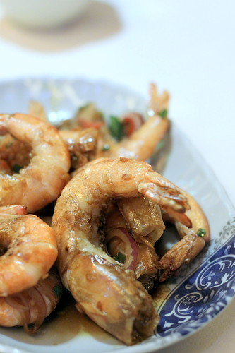 Pan Fried Soy Shrimp