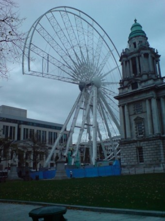 Belfast Wheel Construction