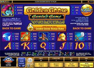 free Golden Goose Genie's Gems slot mini symbol