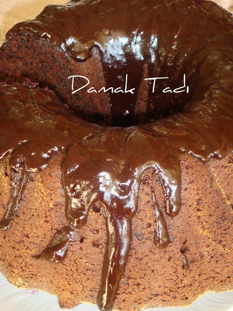 Havuçlu Çikolatalı Kek