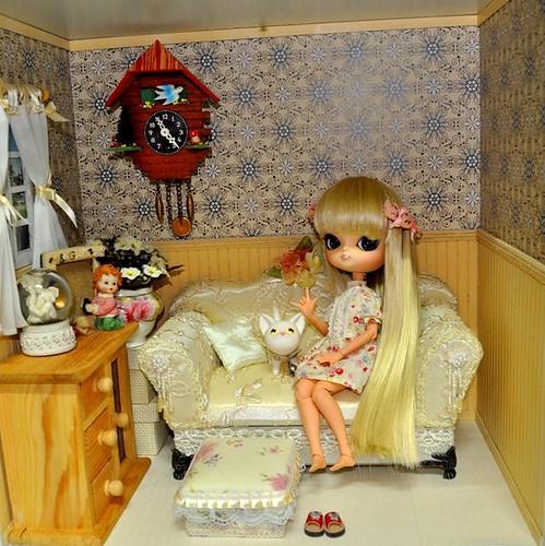Dollhouse for Dal Living Room 01