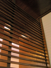 wood slat detail