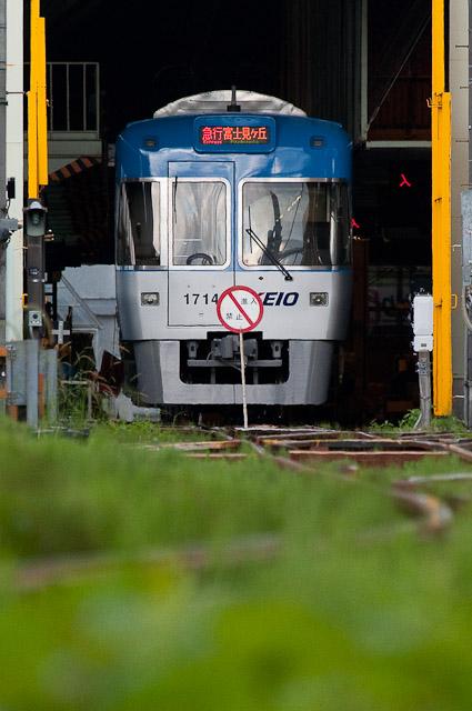 京王電鉄井の頭線1000系1014F 急行富士見ヶ丘行き