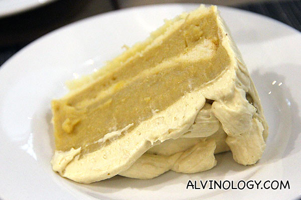 Durian cake