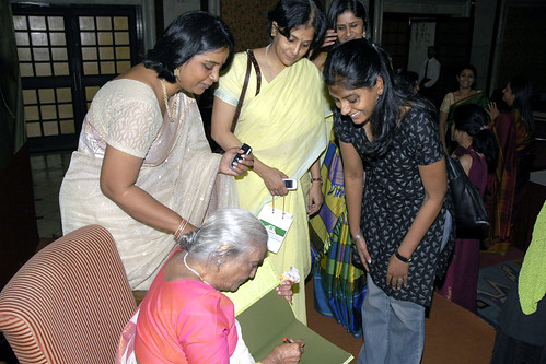 Nandita Das with author Shobha Viswanath