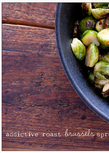 roast brussels sprouts recipe