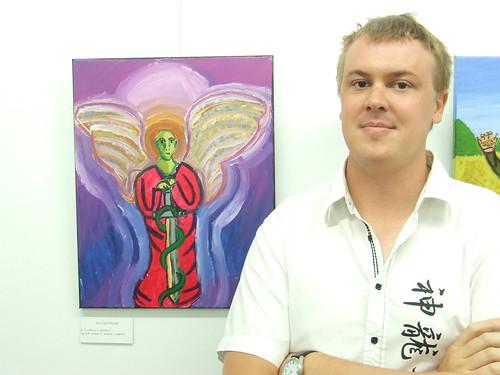 Arc Angel Michael - Sam Blanch's Bridges to Elsewhere exhibition