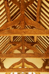 King post roof, St. Peter - Wolfhampcote