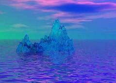 Blue Ice Mountain (freetoglow (Gloria)) Tags: bryce sharingart