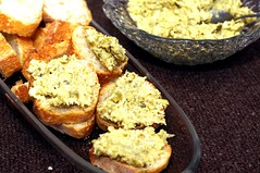 Artichoke-Olive Crostini