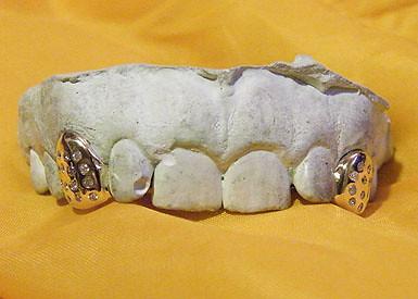 Ice burnish set fangs