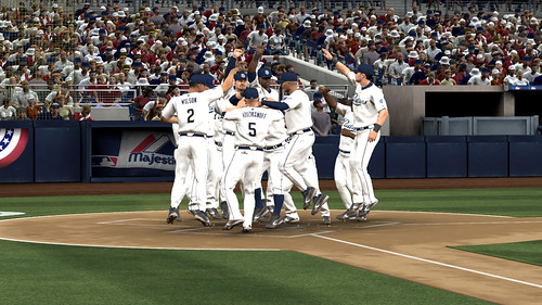 MLB 09 The Show screenshot - RTTS Celebration Pres