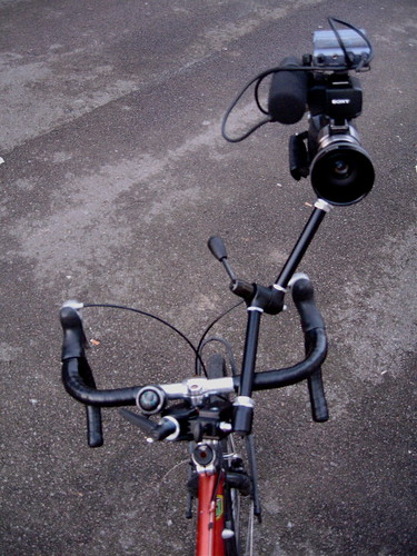 Filming rig for my bike