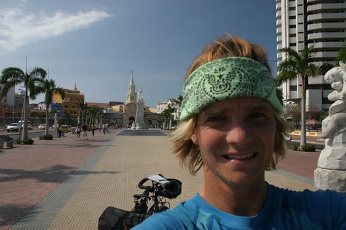 Nicolai just after arrival in Cartagena!
